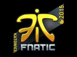 Наклейка | Fnatic (металлическая) | Катовице 2015