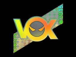 Sticker | Vox Eminor (Holo) | Katowice 2015