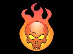 Наклейка | Сожжение