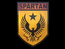 Наклейка | Спартанец