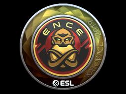 Sticker   ENCE (Foil)   Katowice 2019