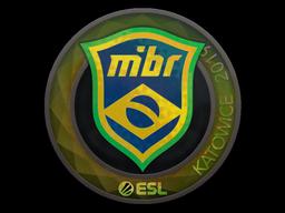 Sticker | MIBR (Holo) | Katowice 2019