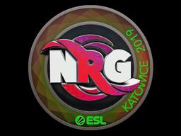 Sticker   NRG (Holo)   Katowice 2019