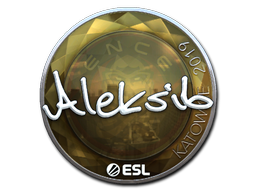 Sticker   Aleksib (Foil)   Katowice 2019