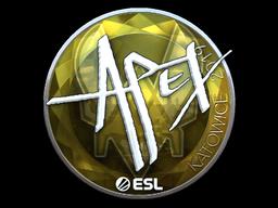 Sticker   apEX (Foil)   Katowice 2019