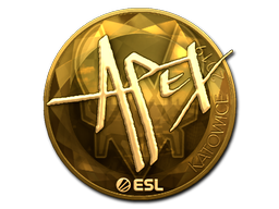 Sticker   apEX (Gold)   Katowice 2019