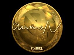 Sticker   aumaN (Gold)   Katowice 2019