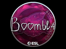 Sticker   Boombl4 (Foil)   Katowice 2019