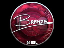 Sticker   Brehze (Foil)   Katowice 2019