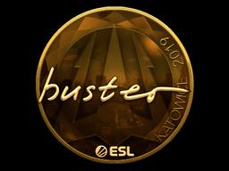 Sticker   buster (Gold)   Katowice 2019
