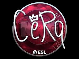 Sticker   CeRq (Foil)   Katowice 2019