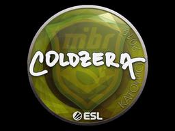 Наклейка | coldzera | Катовице 2019