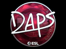 Sticker   daps (Foil)   Katowice 2019