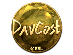 Sticker   DavCost (Gold)   Katowice 2019