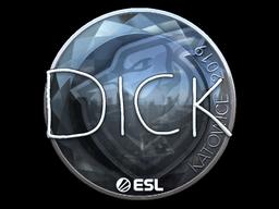 Sticker   DickStacy (Foil)   Katowice 2019