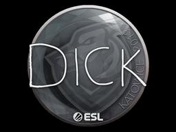 Sticker   DickStacy   Katowice 2019