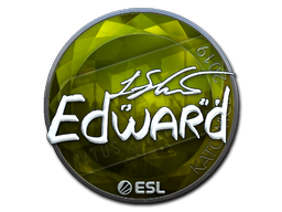 Наклейка | Edward (металлическая) | Катовице 2019