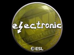 Наклейка | electronic | Катовице 2019