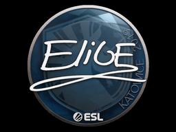 Наклейка | EliGE | Катовице 2019