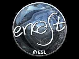 Sticker   erkaSt (Foil)   Katowice 2019