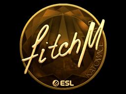 Sticker   fitch (Gold)   Katowice 2019