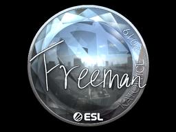 Sticker   Freeman (Foil)   Katowice 2019