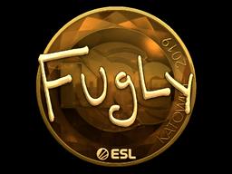 Sticker   FugLy (Gold)   Katowice 2019