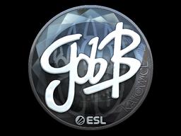 Наклейка | gob b (металлическая) | Катовице 2019