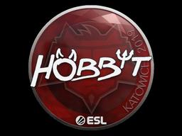 Наклейка | Hobbit | Катовице 2019