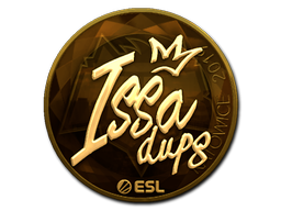 Наклейка | ISSAA (золотая) | Катовице 2019