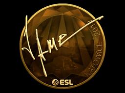Sticker   Jame (Gold)   Katowice 2019