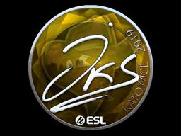 Sticker   jks (Foil)   Katowice 2019