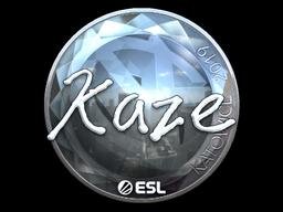 Sticker   Kaze (Foil)   Katowice 2019