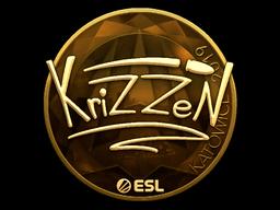 Sticker   KrizzeN (Gold)   Katowice 2019