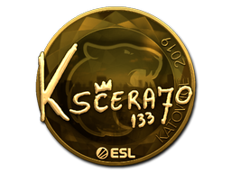 Sticker   KSCERATO (Gold)   Katowice 2019