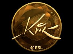 Sticker   Kvik (Gold)   Katowice 2019
