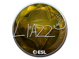 Sticker   Liazz (Foil)   Katowice 2019