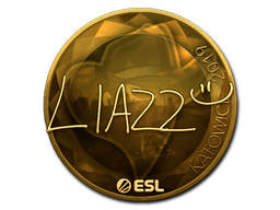 Sticker   Liazz (Gold)   Katowice 2019