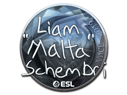 Sticker   malta (Foil)   Katowice 2019