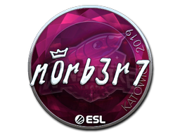 Sticker   n0rb3r7 (Foil)   Katowice 2019