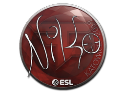 Наклейка | NiKo | Катовице 2019