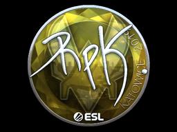 Sticker   RpK (Foil)   Katowice 2019