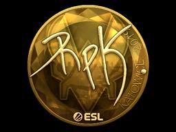 Sticker   RpK (Gold)   Katowice 2019