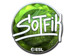 Sticker   S0tF1k (Foil)   Katowice 2019