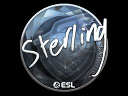 Sticker   sterling (Foil)   Katowice 2019