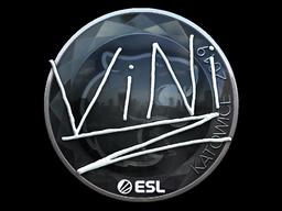 Sticker   VINI (Foil)   Katowice 2019