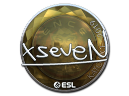 Sticker   xseveN (Foil)   Katowice 2019