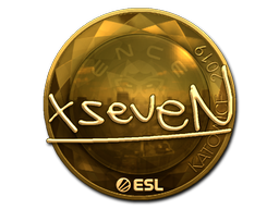 Sticker   xseveN (Gold)   Katowice 2019