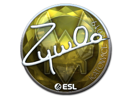 Sticker   ZywOo (Foil)   Katowice 2019