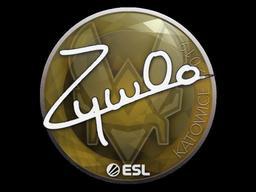 Sticker   ZywOo   Katowice 2019